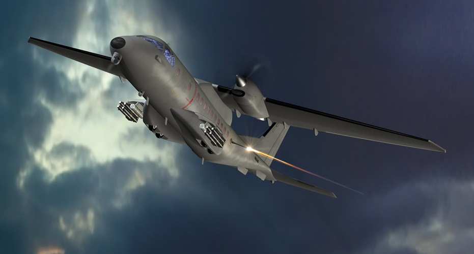 ATK vai transformar dois CASA C-235 da Jordânia em aeronaves 'gunships'